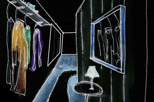 Black Box croquis couloir